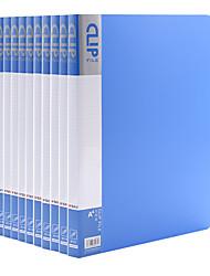 Недорогие -10 pcs M&G ADMN4024 Папки файлов A4 PP Влагоотталкивающий