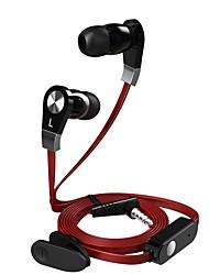 Χαμηλού Κόστους -langsdom JM02 Στο αυτί Ενσύρματη Ακουστικά Κεφαλής Ακουστικό / Κινητό Τηλέφωνο Ακουστικά Με Μικρόφωνο Ακουστικά