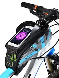 Недорогие -ROCKBROS Сотовый телефон сумка / Бардачок на раму 5.8/6.0 дюймовый Сенсорный экран, Водонепроницаемость Велоспорт для Велосипедный спорт / iPhone X / iPhone XR Зеленый