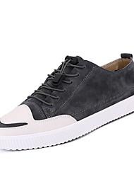 povoljno -Muškarci Udobne cipele Svinjska koža Ljeto Sneakers Crn / Sive boje / Braon
