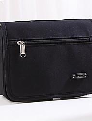 저렴한 -옥스퍼드 섬유 한 색상 화장품 백 지퍼 한 색상 블랙 / 네이비 블루 / 핑크
