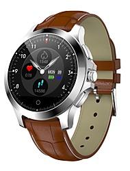 Недорогие -Indear W8 Универсальные Умный браслет Android iOS Bluetooth Smart Спорт Водонепроницаемый Пульсомер Измерение кровяного давления ЭКГ + PPG / Датчик для отслеживания активности / будильник