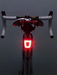 Недорогие -Светодиодная лампа Велосипедные фары Задняя подсветка на велосипед Велоспорт Водонепроницаемый Портативные Литий-ионная аккумуляторная батарея 20 lm Перезаряжаемый Красный Велосипедный спорт -