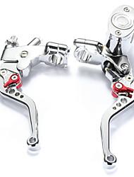 abordables -Motocicleta Palanca del freno del embrague Ajustable Aleación de Alumnium 1 par (derecha e izquierda) Para motocicletas Todos los Años