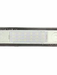 Недорогие -1 шт. Автомобиль Лампы SMD 1210 18 Светодиодная лампа Подсветка для номерного знака Назначение Opel Corsa / Vectra / Astra Все года