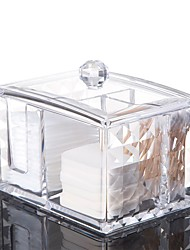 baratos -Festa de Casamento / Casual Acrílico / Material ecológico Caixas para Aliança / Lembrancinhas Práticas / Decoração de Casa Criativo - 1 pcs