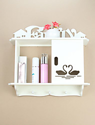 abordables -Espace de rangement Organisation Organisateur de maquillage cosmétique Panneau de mousse de PVC Forme de rectangle / Forme irrégulière Créatif / Etanche à la Poussière / Nouveautés