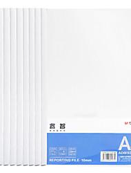 Недорогие -10 pcs M&G ADM92996 Папки файлов A4 PP Прозрачный Custom Label