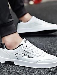 povoljno -Muškarci Udobne cipele PU Ljeto Sneakers Crn / Crvena / Crno-bijeli