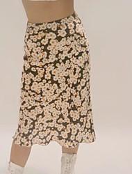povoljno -Žene A kroj Ulični šik Suknje - Geometrijski oblici