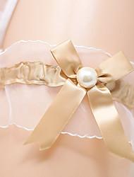 levne -Saténový šifon Lolita aristokrat / Pro nevěstu Svatební ošacení S Stuha / Perličky Podvazky Svatební / Párty