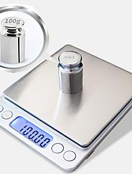 Недорогие -0.1 г -1000 г портативный мини электронные цифровые весы карманный кейс почтовый высокая точность кухня ювелирные изделия вес