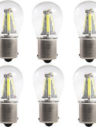 Недорогие -6шт 1156 / 1157 Автомобиль Лампы 4 W COB 300 lm 4 Светодиодная лампа Лампа поворотного сигнала / Тормозные огни / Фонари заднего хода (резервные) Назначение Универсальный Все года