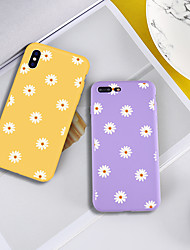 cheap -Case For Apple iPhone XR / iPhone XS Max Pattern Back Cover Plants / Flower Soft TPU for iPhone XS / iPhone XR / iPhone XS Max