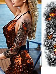 Недорогие -3 pcs Временные татуировки Экологичные / Одноразового использования плечо / ножка Картон