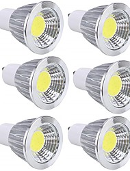 Недорогие -6шт 5 W Точечное LED освещение 450 lm GU10 GU10 10 Светодиодные бусины COB Для вечеринок Декоративная Новогоднее украшение для свадьбы Тёплый белый Холодный белый 85-265 V / RoHs