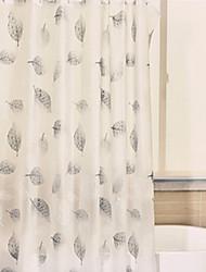Χαμηλού Κόστους -Κουρτίνες μπάνιου & γάντζοι Σύγχρονο / Καθημερινό PEVA Αδιάβροχη / Χαριτωμένο / Νεό Σχέδιο