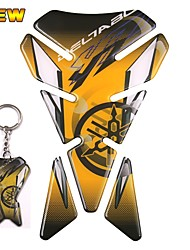 Недорогие -3d hrc смолы гель мотоцикл танк площадку стикер наклейка эмблема для yamaha r1 r6 xjr yzf с брелок