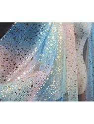 economico -Tulle Tinta unita Anelastico 140 cm larghezza tessuto per Occasioni speciali venduto di il metro