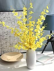 abordables -Fleurs artificielles 5 Une succursale Classique Traditionnel / Classique Européen Violet Fleurs éternelles Fleur de Table