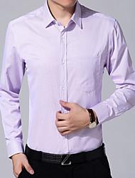 cheap -Men's Shirt - Striped Print