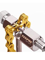Недорогие -Размыкатель цепи для велосипеда Компактность Ремкомплект Многофункциональный Прочный Назначение Шоссейный велосипед Горный велосипед Односкоростной велосипед Велоспорт Сталь Серебряный