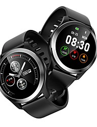 abordables -Indear Z03 Pulsera inteligente Android iOS Bluetooth Smart Deportes Impermeable Monitor de Pulso Cardiaco ECG + PPG Reloj Cronómetro Podómetro Recordatorio de Llamadas Seguimiento de Actividad
