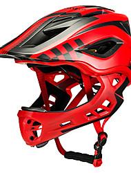 Недорогие -ROCKBROS Детские Мотоциклетный шлем BMX Шлем 12 Вентиляционные клапаны Формованный с цельной оболочкой Легкий вес Сетка от насекомых ESP+PC Этиленвинилацетат Виды спорта / Мальчики / Девочки