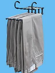 hesapli -Plastik Katlanabilir Pantolonlar / Giyim Askı, 5pcs