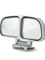 Недорогие -1шт автомобиля зеркало заднего вида слепое пятно двойное боковое зеркало регулируемый широкоугольный вид сзади