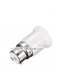 Недорогие -Светодиодный преобразователь Лампа Адаптер лампы B22 - E27 база