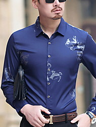 abordables -chemise homme - col chemise géométrique