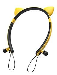 Χαμηλού Κόστους -LITBest KZ29 Ακουστικά & Ακουστικά Ασύρματη Ακουστικά Κεφαλής Ακουστικό PP+ABS / Silica Gel / ABS + PC Ταξίδια & Ψυχαγωγία Ακουστικά Χαριτωμένο / Στέρεο / Με Μικρόφωνο Ακουστικά
