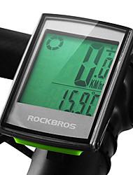 Недорогие -ROCKBROS BC355 Велокомпьютер Датчик модуляций скорости Датчик частоты пульса Водонепроницаемость Безпроводнлй подсветка Шоссейный велосипед Горный велосипед Велоспорт