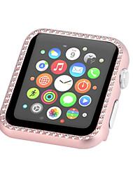 Недорогие -Кейс для Назначение Apple Apple Watch Series 4/3/2/1 Металл Apple