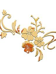 abordables -Fleurs / Botaniques / Places Décoration murale Verre Européen / Pastoral Art mural, Plaques murales Décoration