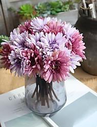 abordables -Fleurs artificielles 1 Une succursale Classique Moderne contemporain Fleurs de mariage Chrysanthème Fleurs éternelles Fleur de Table