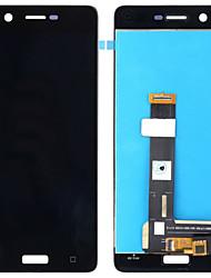 Недорогие -для nokia 5 n5 замена экрана жк-сенсорный дигитайзер дисплей в сборе с ремонтными инструментами