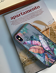cheap -Case For Apple iPhone XR / iPhone XS Max Pattern Back Cover Plants Hard TPU for iPhone XS / iPhone XR / iPhone XS Max