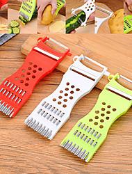 hesapli -Paslanmaz Çelik + Plastik Sarımsak Aletleri Soyucu Dilimleyici Yaratıcı Mutfak Gadget Mutfak Eşyaları Aletleri Mutfak Yenilik Araçları 1pc