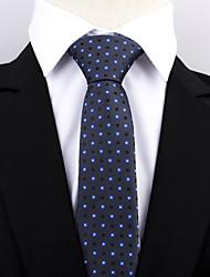 Недорогие -Муж. Для вечеринки / Для офиса / Классический Платок / аскотский галстук Горошек / С принтом