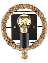 hesapli -Duvar ışığı Ortam Işığı Duvar lambaları 110-120V / 220-240V E26 / E27 Basit / Retro / Vintage