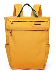 رخيصةأون -نايلون / اصطناعي لون الصلبة حقيبة حفاضات سحاب لون الصلبة أصفر / أزرق سماوي / زهري