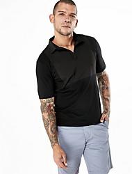 olcso -férfi polo - szilárd színű ing gallérja