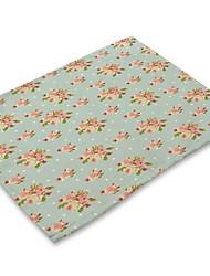preiswerte -Moderne Nicht gewebt Quadratisch Platztdeckchen Mit Mustern Umweltfreundlich Tischdekorationen 1 pcs