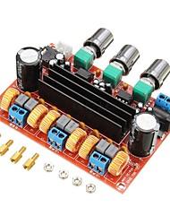 Недорогие -XH-M139 2,1-канальный цифровой усилитель мощности платы 12 В-24 В широкий напряжение питания tpa3116d2 2 * 50 Вт