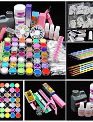 voordelige -Acryl Kit Schitteren UV-gel Klassiek / Beste kwaliteit Romantische serie Nagel kunst Manicure pedicure Romantisch / Modieus Dagelijks / Festival