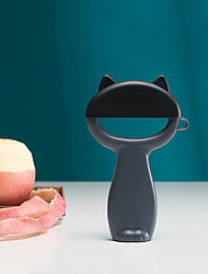 abordables -Plastique Econome & Râpe Portable Accueil Outil de cuisine Adorable Outils de cuisine Usage quotidien Pour Ustensiles de cuisine 1pc