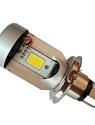Недорогие -H4 Мотоцикл Лампы 20W COB 2000lm Светодиодная лампа Налобный фонарь