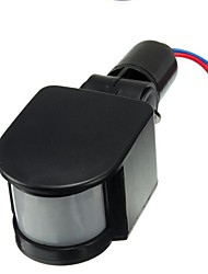 Недорогие -1шт 15.6 cm 85-265 V Инфракрасный датчик ABS + PC Сенсорный переключатель для светодиодных прожекторов 50 W